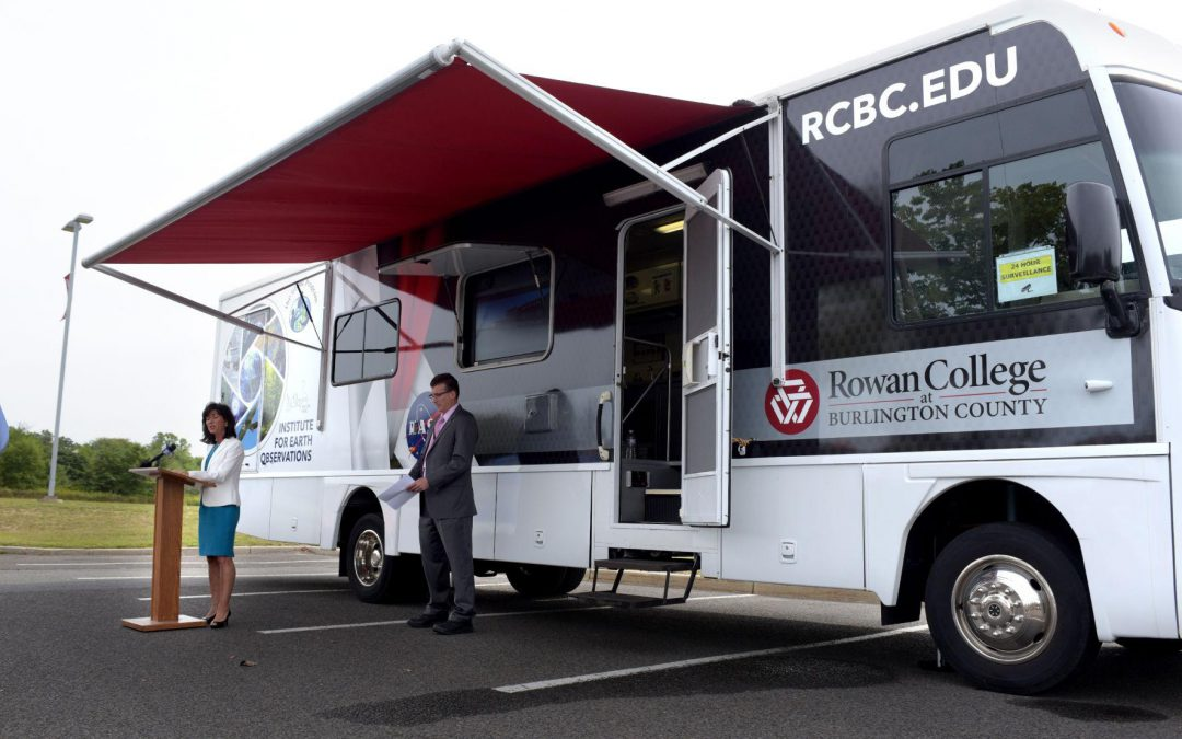 STEM: Rowan College Takes Science To-Go With New Mobile Classroom