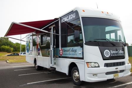 A space station on wheels rolls into Burlington County